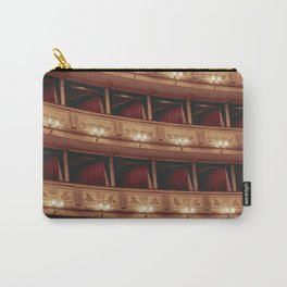 The interior of the Vienna State Opera | Travel Photography | Print Art Carry-All Pouch
