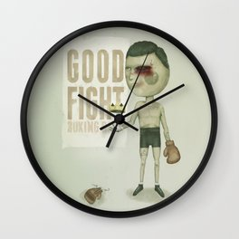 GO THE DISTANCE Wall Clock