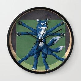 DaVinciDog Wall Clock