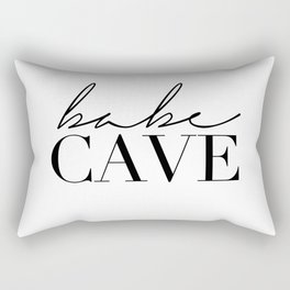 babe cave Rectangular Pillow