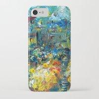 switzerland iPhone & iPod Cases featuring SWITZERLAND by Kelli Gedvil