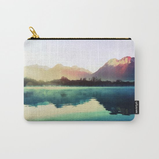 Mountains #watercolor Carry-All Pouch