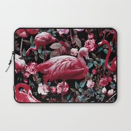 Floral and Flamingo VIII pattern Laptop Sleeve