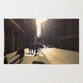 Sunrise Or Sunset (Pt 11): New York, New York. Rug