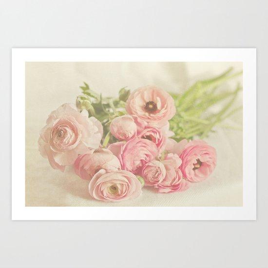 Soft & Delicate Art Print