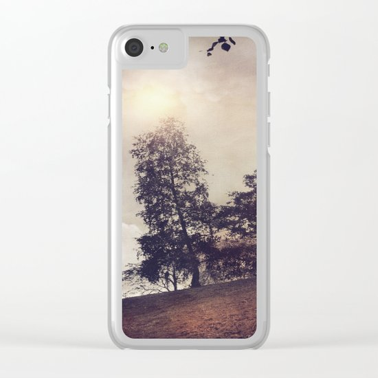 Sun & Trees Clear iPhone Case