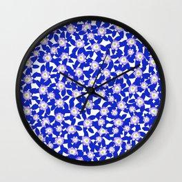 Hepatica Nobilis Wall Clock