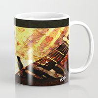 robert farkas Mugs featuring Robert by Darla Designs