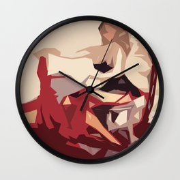 Red Skirt Wall Clock