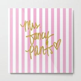 Mrs Fancy Pants 02 Metal Print