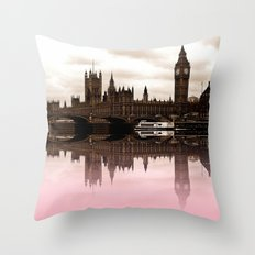 Westminster Pink Throw Pillow