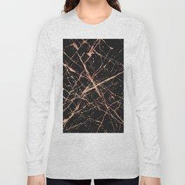 Copper Splatter 091 Long Sleeve T-shirt