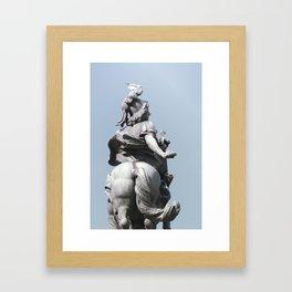 cheval Framed Art Print