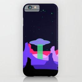 Hello ufo iPhone Case