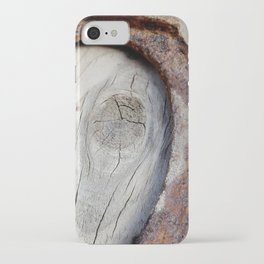 Horse Shoe Bull's Eye iPhone Case