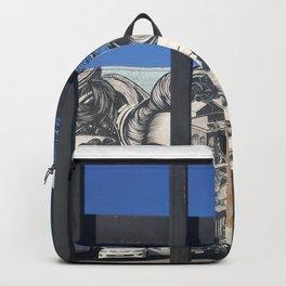 Downtown LA Graffiti Backpack