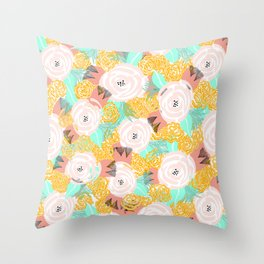 LE Print Throw Pillow