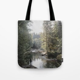 All the Drops form a River - landscape photography Tote Bag