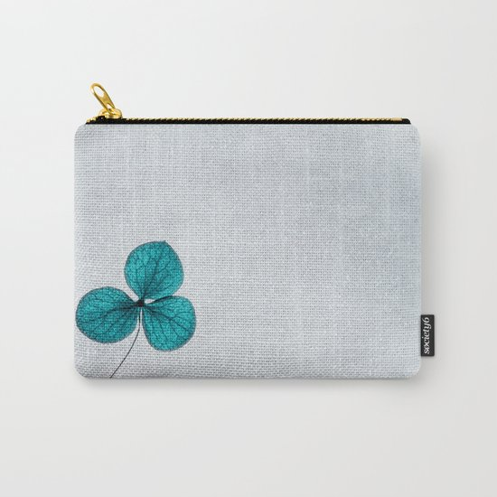 blue clover Carry-All Pouch