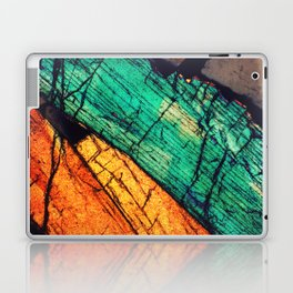 Epidote and Quartz Laptop & iPad Skin