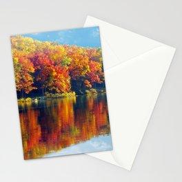 Autumn Colors at Lake Killarney Stationery Cards