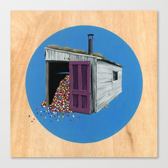 Sheds & Shacks | No:2 Canvas Print