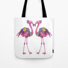 Fancy Felicity Flamingo Tote Bag