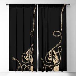SNAKE CHARMER Blackout Curtain