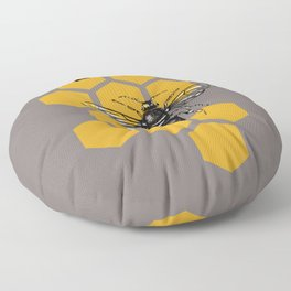 Save the Bees Floor Pillow