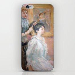 La Coiffure by Berthe Morisot iPhone Skin