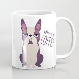 Grumpy dog Coffee Mug