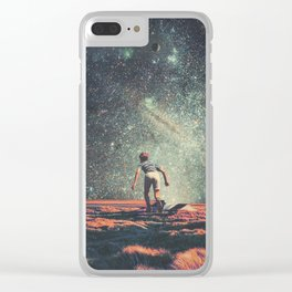 Nostalgia Clear iPhone Case