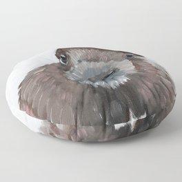 Beaver Floor Pillow
