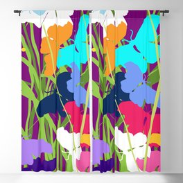 Butterfly Night Blackout Curtain