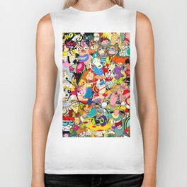 Childhood Cartoons Biker Tank