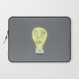 Be Your Own Light Laptop Sleeve