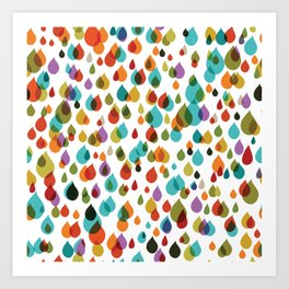 little drops Art Print