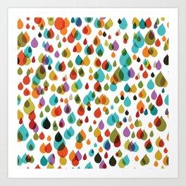 little drops Art Print