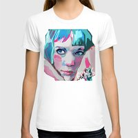 grimes T-shirts featuring Grimes by Tiffany Baxter
