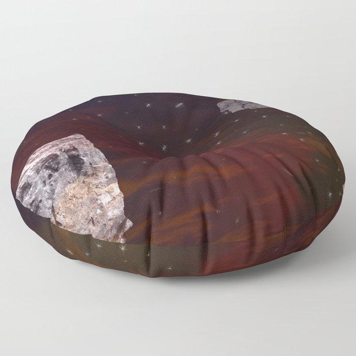 Meteorite Shower Floor Pillow