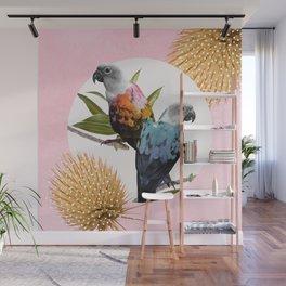 Jolly Parrots Wall Mural