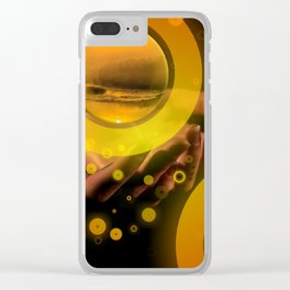 Hand Energy by GEN Z Clear iPhone Case