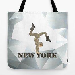 Gymnastics New York Tote Bag