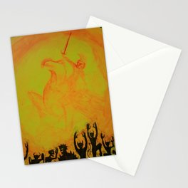 Monster Pep Rally Stationery Cards
