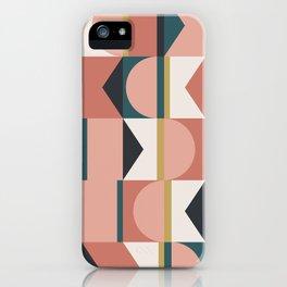 Maximalist Geometric 01 iPhone Case