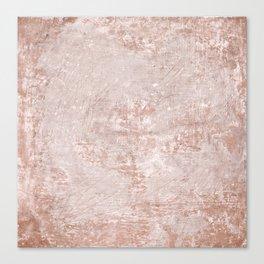 texture pale terracotta Canvas Print