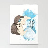 the fault in our stars Stationery Cards featuring The Fault in Our Stars by Coconut Wishes