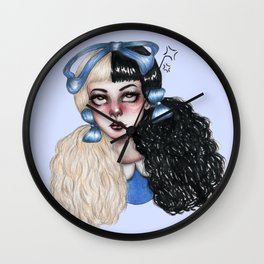 On My Nerves Wall Clock