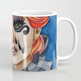 Harlequin - watercolor Coffee Mug