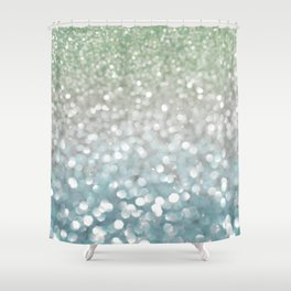Winter Flurries Shower Curtain